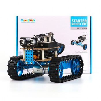 Конструктор STARTER ROBOT KIT-BLUE (IR VERSION) - робототехника -